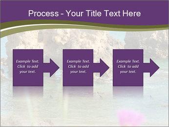Sandstone cliffs PowerPoint Template - Slide 88