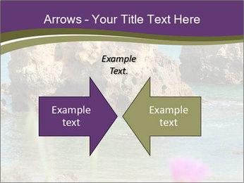 Sandstone cliffs PowerPoint Template - Slide 90