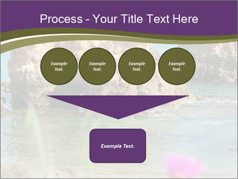 Sandstone cliffs PowerPoint Template - Slide 93