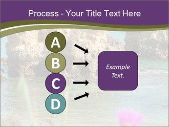 Sandstone cliffs PowerPoint Template - Slide 94