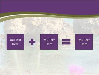 Sandstone cliffs PowerPoint Template - Slide 95