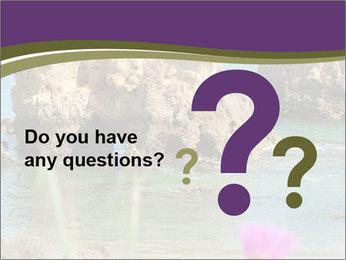 Sandstone cliffs PowerPoint Template - Slide 96