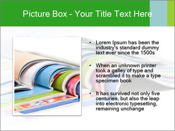 Color magazines PowerPoint Template - Slide 13