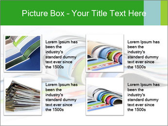 Color magazines PowerPoint Template - Slide 14