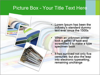 Color magazines PowerPoint Template - Slide 17