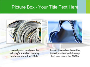 Color magazines PowerPoint Template - Slide 18