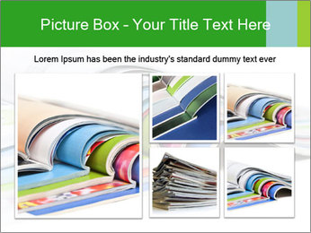 Color magazines PowerPoint Template - Slide 19