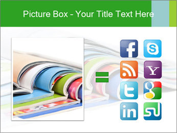 Color magazines PowerPoint Template - Slide 21