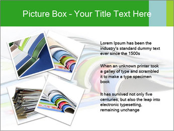 Color magazines PowerPoint Template - Slide 23
