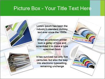 Color magazines PowerPoint Template - Slide 24