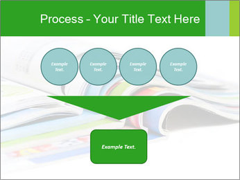 Color magazines PowerPoint Template - Slide 93