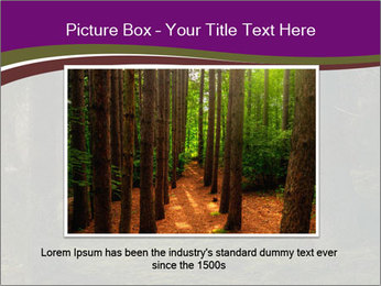 Trees in forest PowerPoint Template - Slide 15