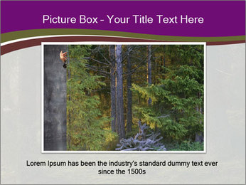 Trees in forest PowerPoint Template - Slide 16