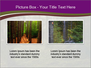 Trees in forest PowerPoint Template - Slide 18