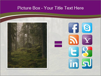 Trees in forest PowerPoint Template - Slide 21