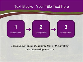 Trees in forest PowerPoint Template - Slide 71