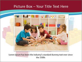Lego plastic blocks PowerPoint Template - Slide 16