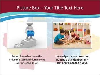 Lego plastic blocks PowerPoint Template - Slide 18