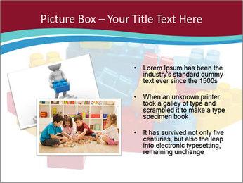 Lego plastic blocks PowerPoint Template - Slide 20