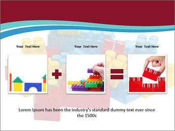 Lego plastic blocks PowerPoint Template - Slide 22