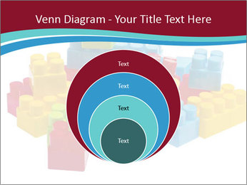 Lego plastic blocks PowerPoint Template - Slide 34