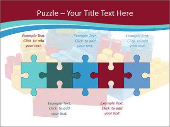 Lego plastic blocks PowerPoint Template - Slide 41