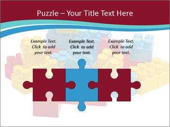 Lego plastic blocks PowerPoint Template - Slide 42