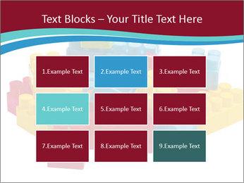 Lego plastic blocks PowerPoint Template - Slide 68