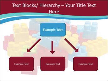 Lego plastic blocks PowerPoint Template - Slide 69