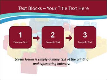 Lego plastic blocks PowerPoint Template - Slide 71