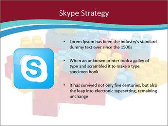 Lego plastic blocks PowerPoint Template - Slide 8