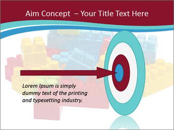 Lego plastic blocks PowerPoint Template - Slide 83