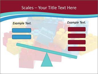 Lego plastic blocks PowerPoint Template - Slide 89