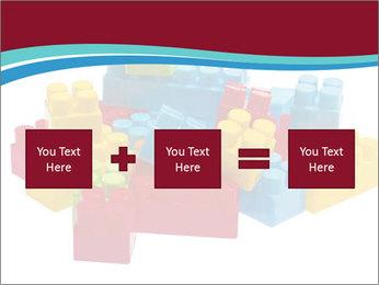 Lego plastic blocks PowerPoint Template - Slide 95