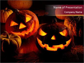 Pumpkin PowerPoint Template - Slide 1
