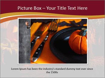 Pumpkin PowerPoint Template - Slide 16