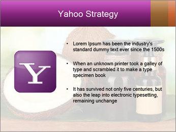 Coconut oil in bottles PowerPoint Template - Slide 11