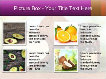 Coconut oil in bottles PowerPoint Template - Slide 14