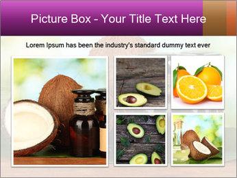 Coconut oil in bottles PowerPoint Template - Slide 19