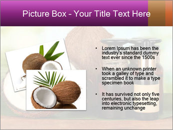 Coconut oil in bottles PowerPoint Template - Slide 20