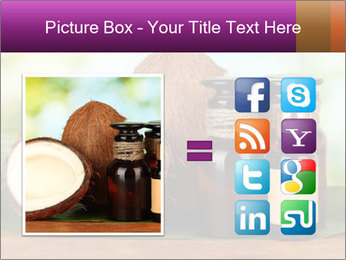 Coconut oil in bottles PowerPoint Template - Slide 21