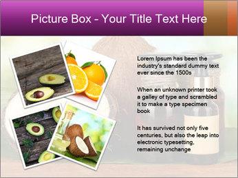 Coconut oil in bottles PowerPoint Template - Slide 23