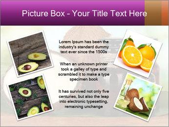 Coconut oil in bottles PowerPoint Template - Slide 24