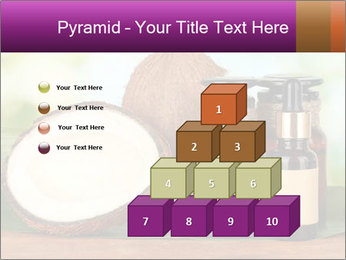 Coconut oil in bottles PowerPoint Template - Slide 31