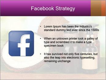 Coconut oil in bottles PowerPoint Template - Slide 6