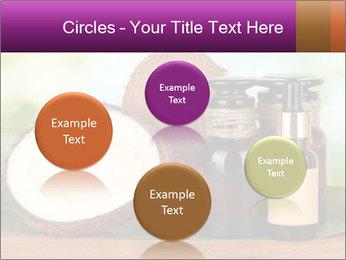 Coconut oil in bottles PowerPoint Template - Slide 77