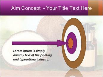 Coconut oil in bottles PowerPoint Template - Slide 83