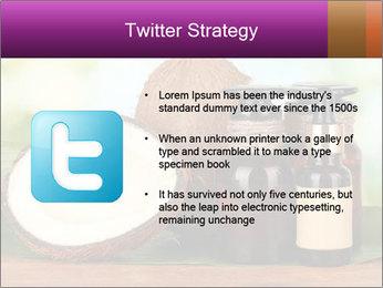 Coconut oil in bottles PowerPoint Template - Slide 9