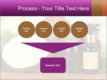 Coconut oil in bottles PowerPoint Template - Slide 93