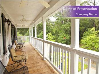 Porch PowerPoint Template - Slide 1